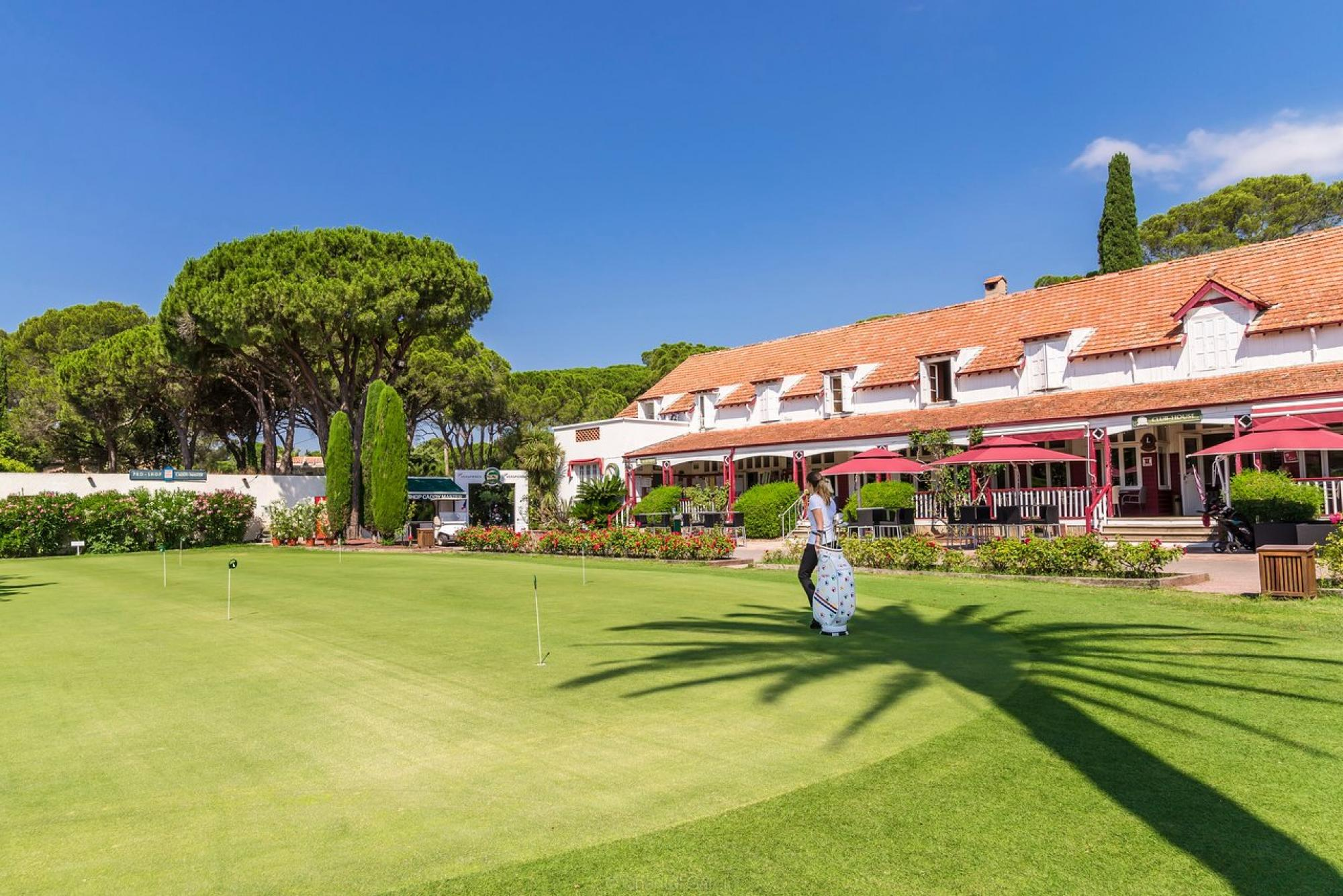 All The Golf de Valescure's beautiful golf course in striking South of France.