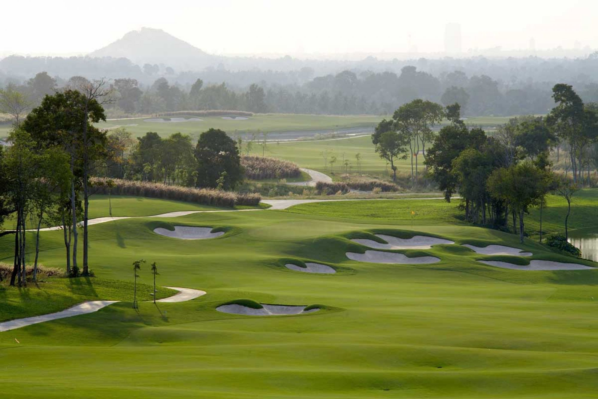 Siam Country Club Plantation Course has several of the most popular golf course near Pattaya
