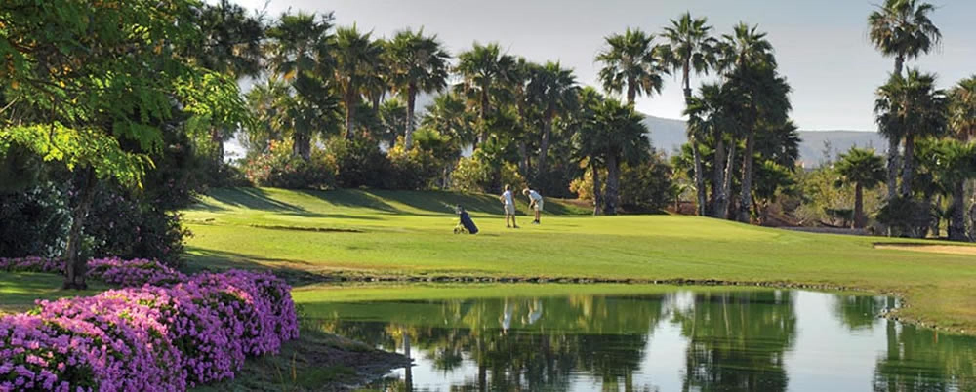The Golf Las Americas's picturesque golf course in stunning Tenerife.
