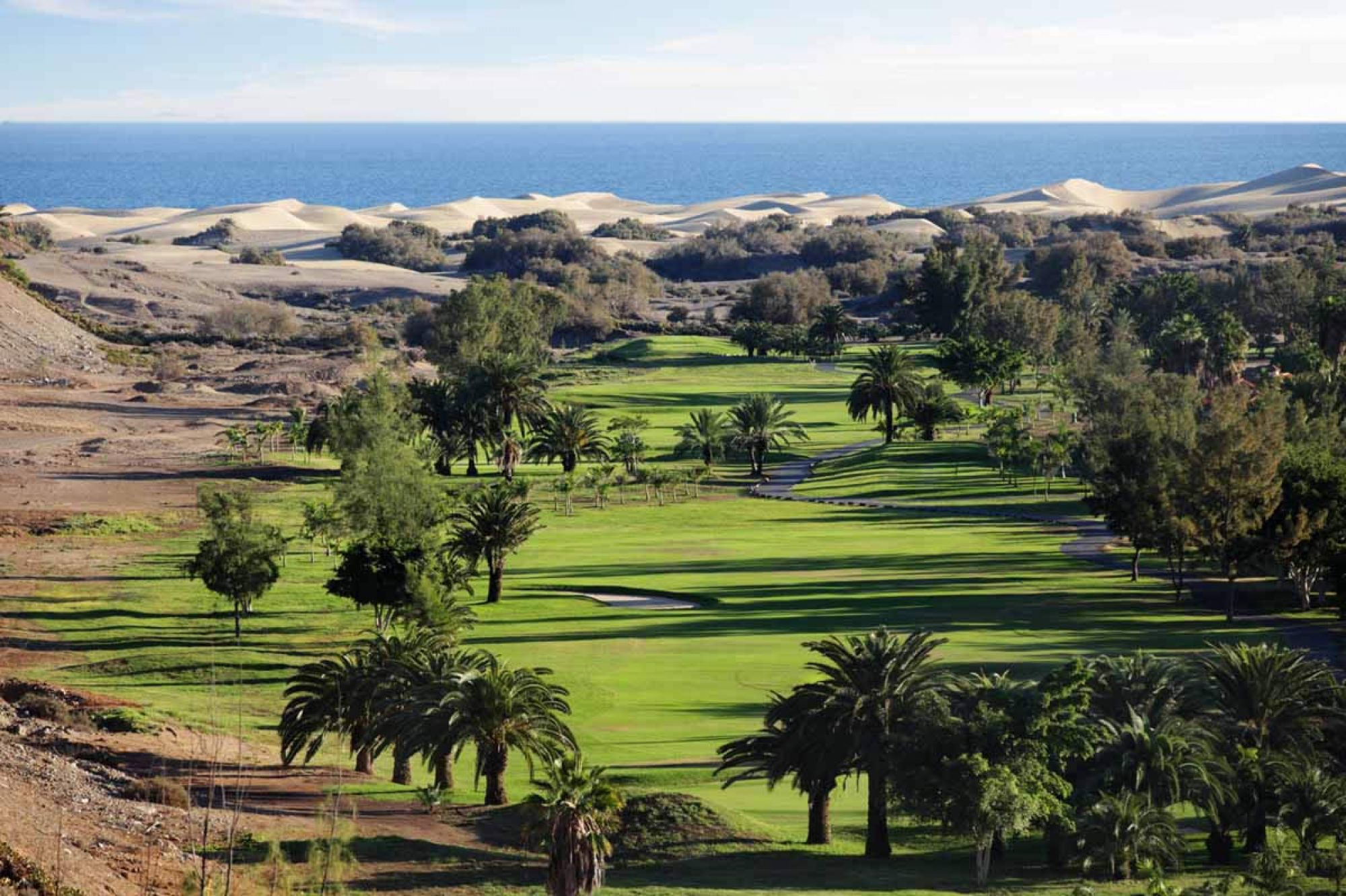Maspalomas Golf Course provides among the finest golf course in Gran Canaria