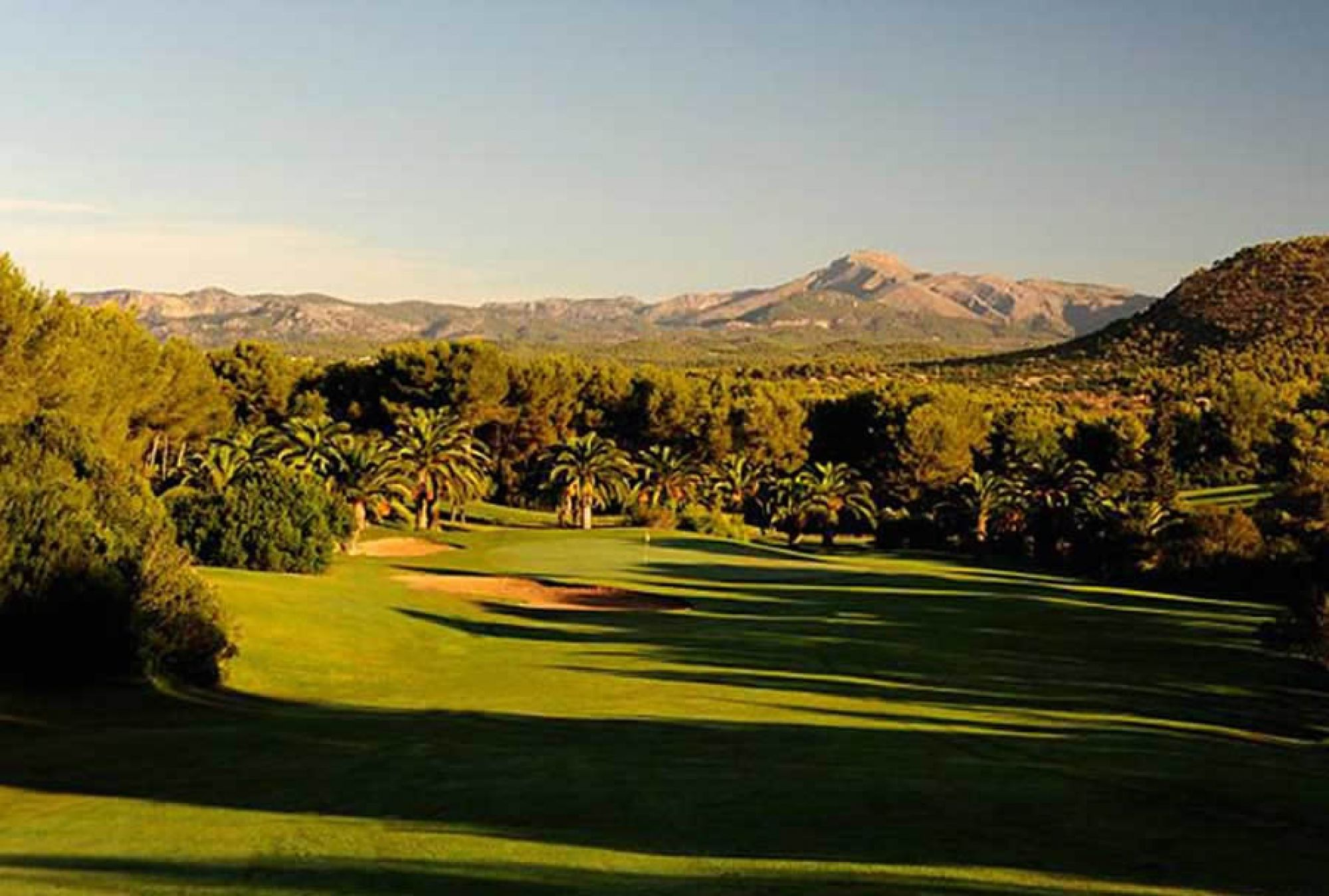 All The Poniente Golf Course's picturesque golf course in sensational Mallorca.
