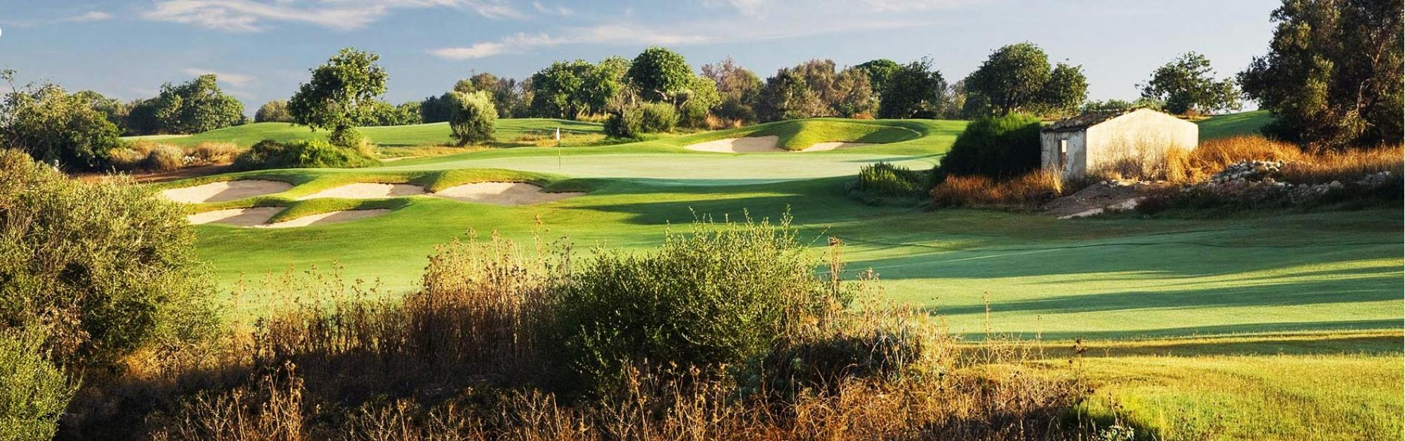 Donnafugata Golf Club provides several of the premiere golf course near Sicily