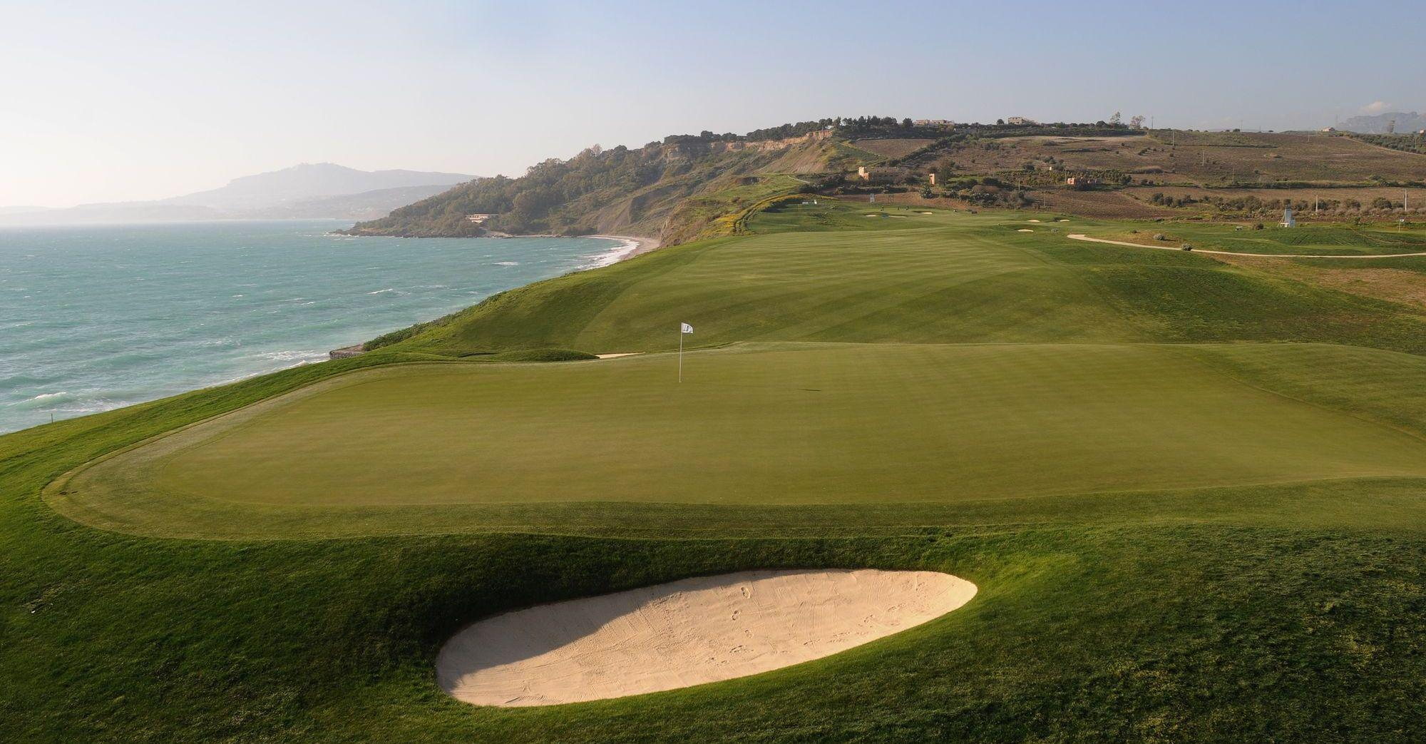 Verdura Golf Club provides several of the finest golf course within Sicily