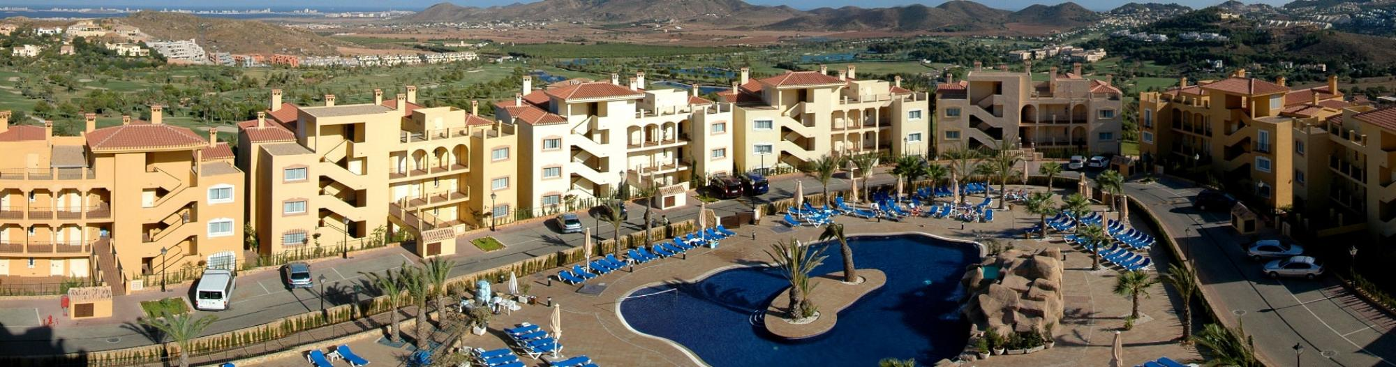 View Las Lomas Village Apartments' picturesque hotel situated in pleasing Costa Blanca.