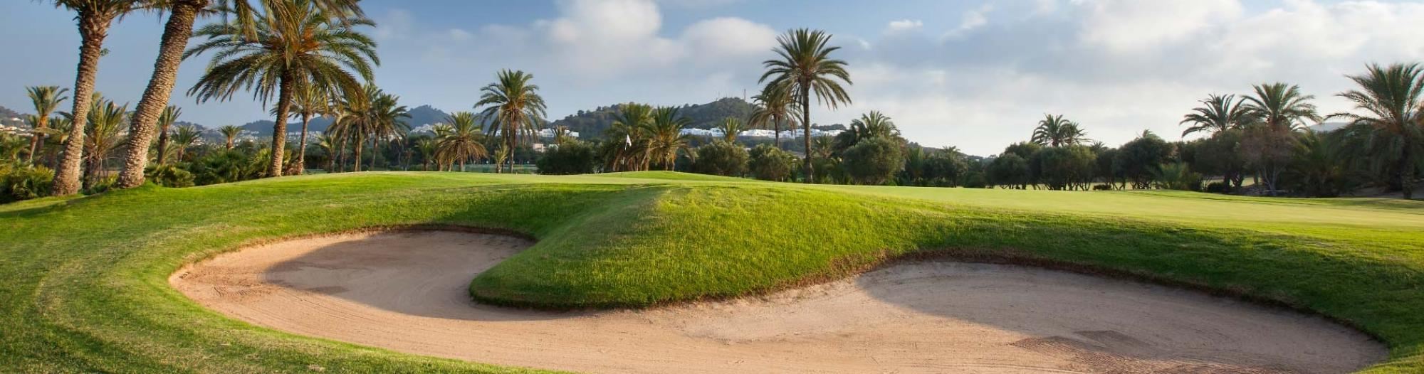 The La Manga Golf Club, North Course's beautiful golf course within pleasing Costa Blanca.