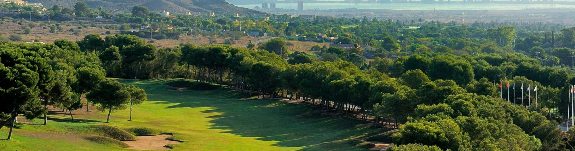 View La Manga Golf Club, West Course's lovely golf course in magnificent Costa Blanca.