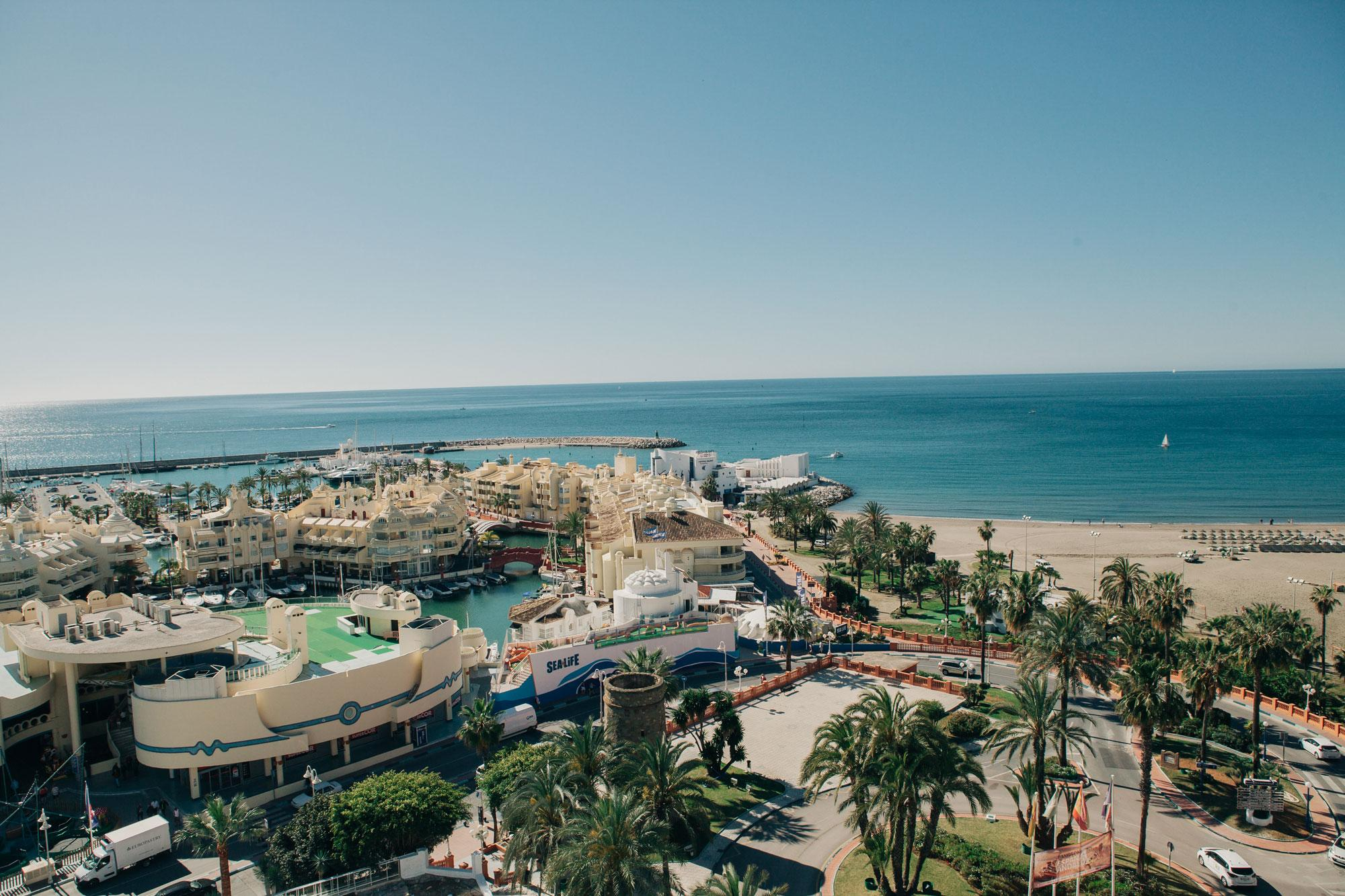 View Hotel Alay's beautiful hotel in striking Costa Del Sol.