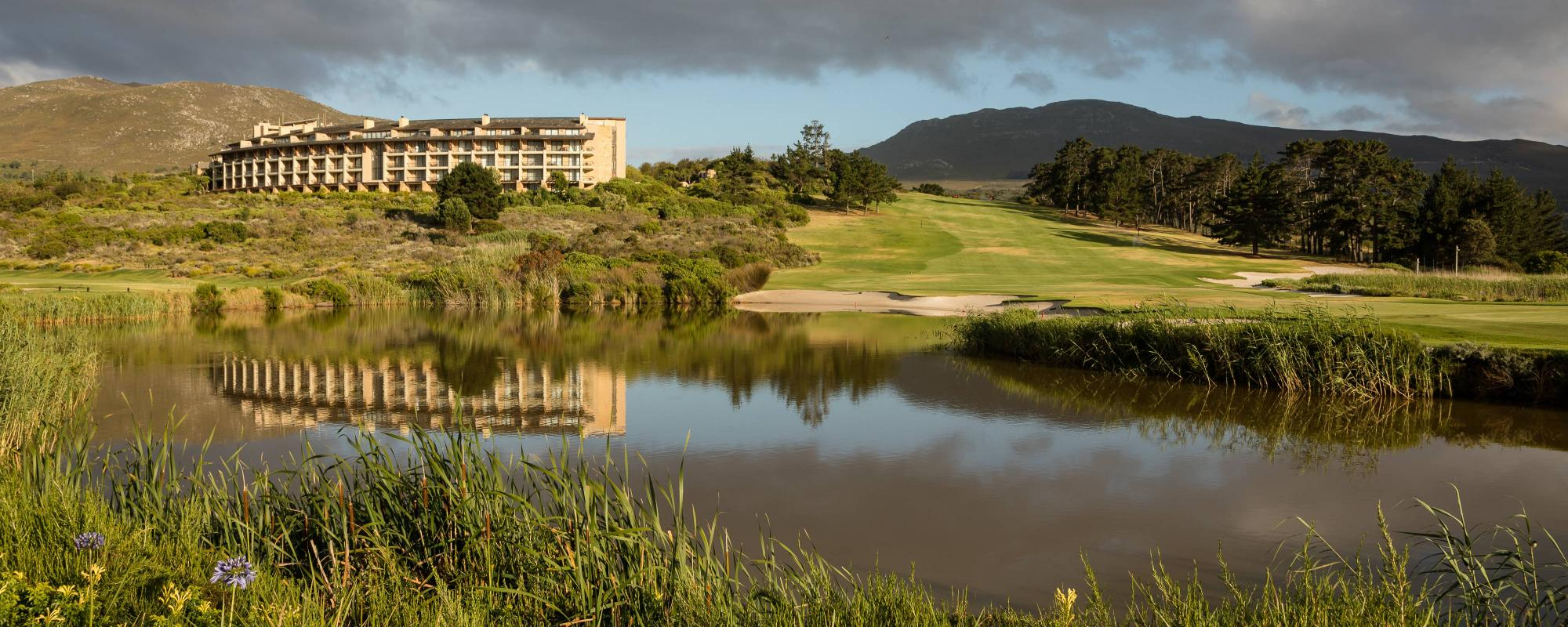 All The Arabella Hotel  Spa's impressive golf course within sensational South Africa.
