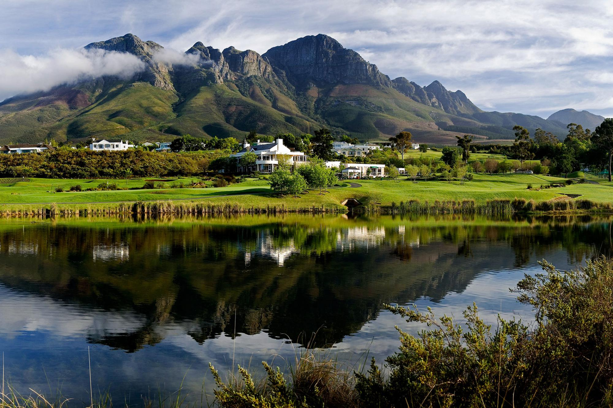 View Erinvale Estate Hotel  Spa's picturesque hotel situated in pleasing South Africa.