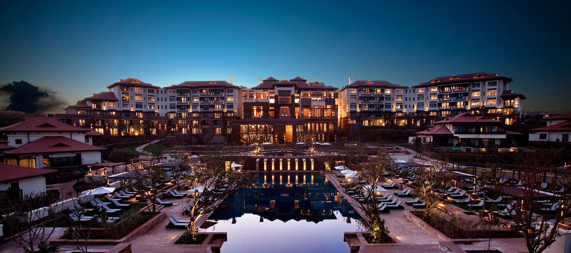 The Fairmont Zimbali Resort's picturesque hotel situated in sensational South Africa.