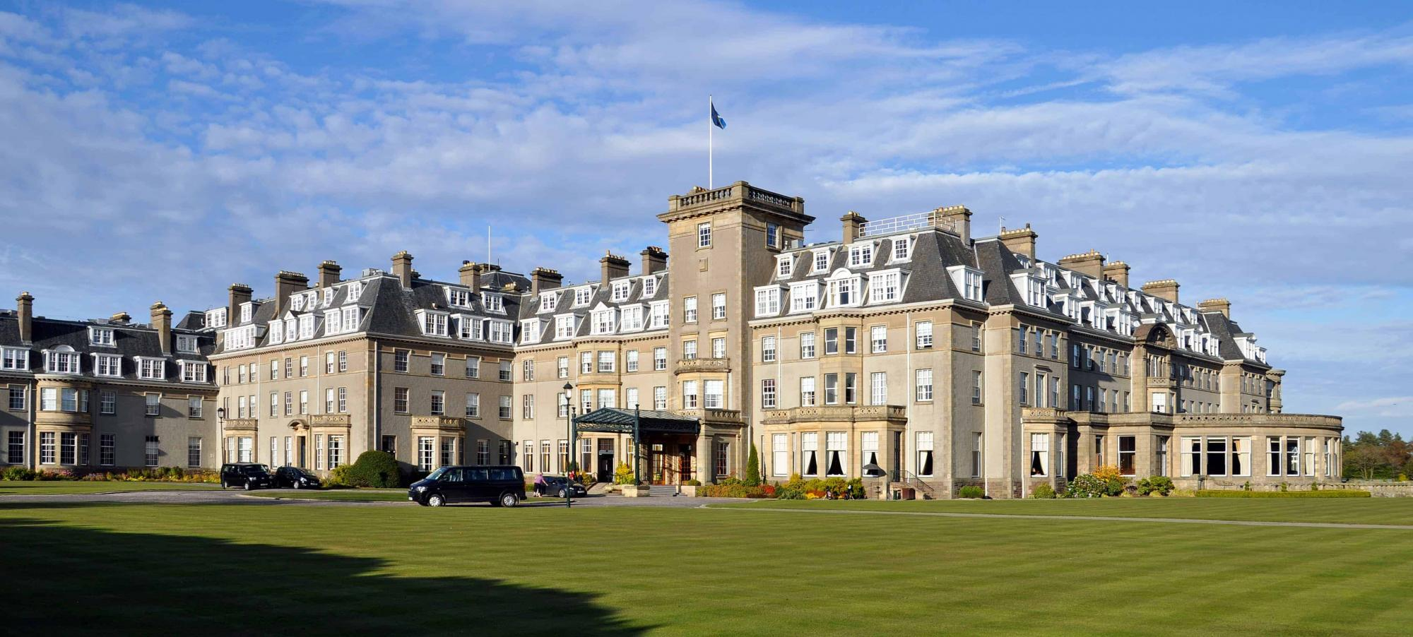 View Gleneagles's lovely hotel in brilliant Scotland.