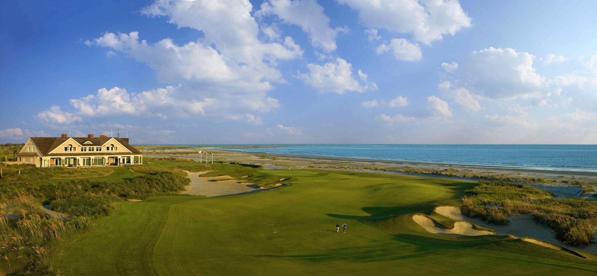 View Kiawah Island Golf Resort's beautiful golf course in dramatic South Carolina.
