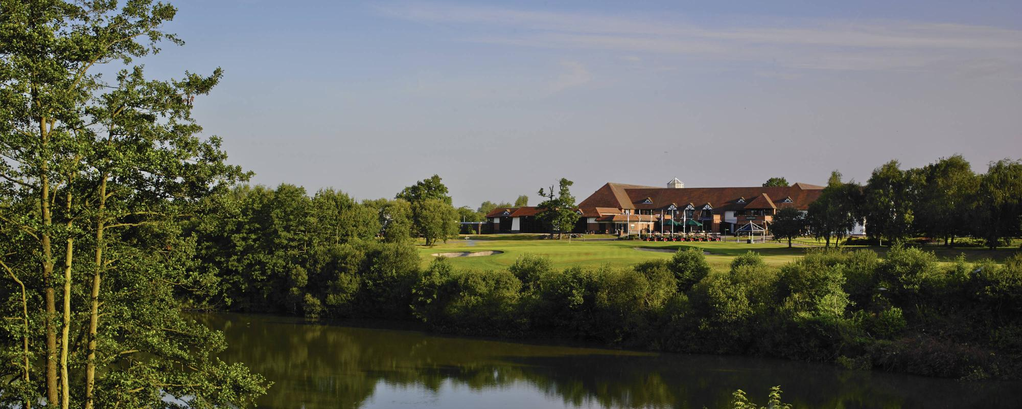 The Marriott Forest Of Arden's picturesque hotel in spectacular West Midlands.