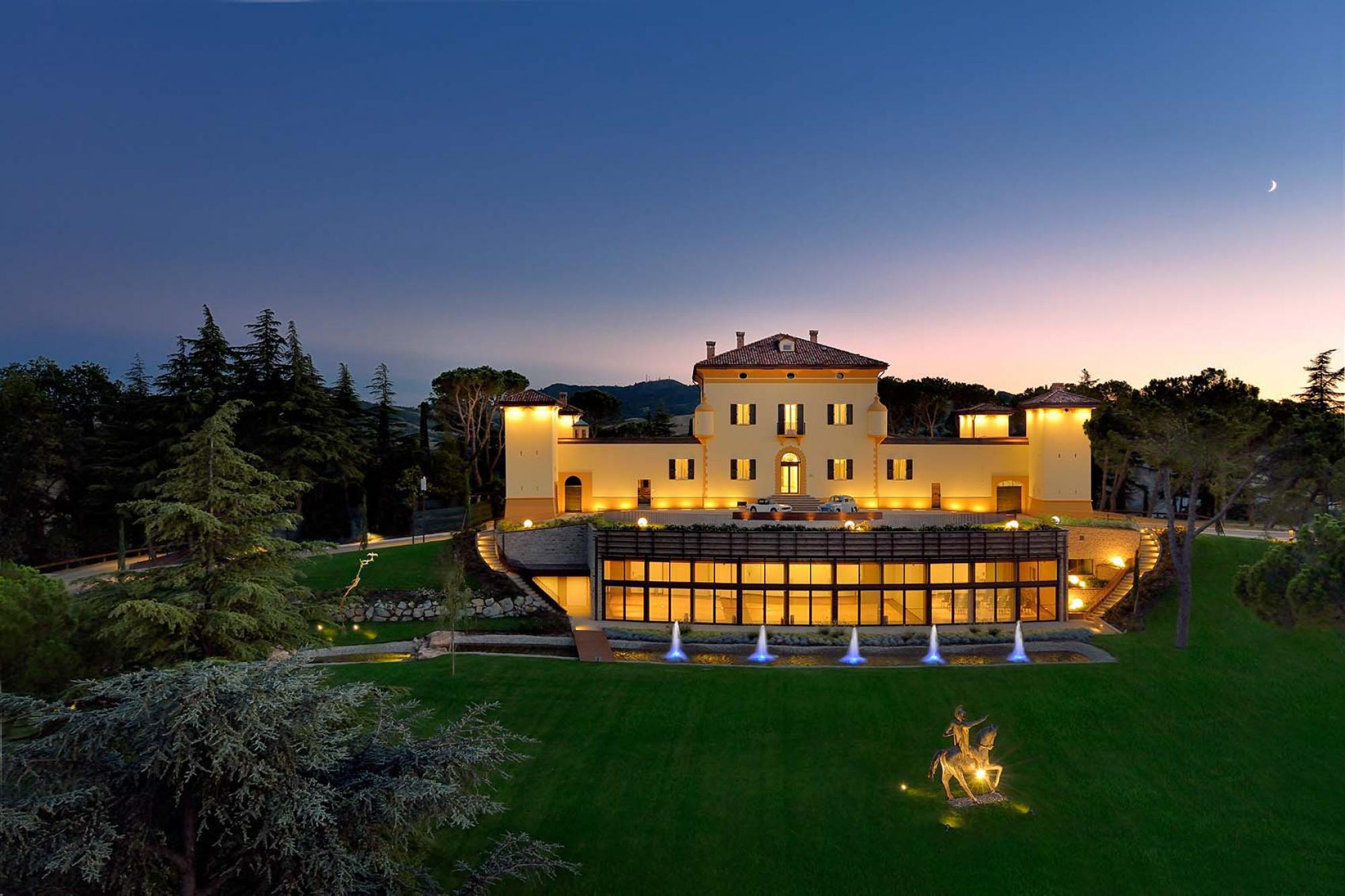 The Palazzo Di Varignana Resort's scenic hotel in sensational Northern Italy.