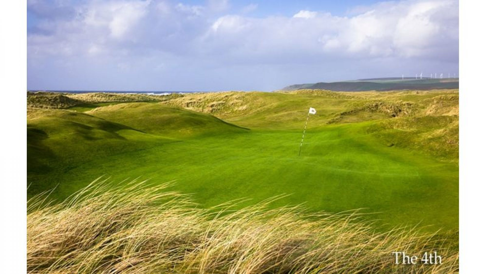 All The Machrihanish Dunes's lovely golf course in marvelous Scotland.