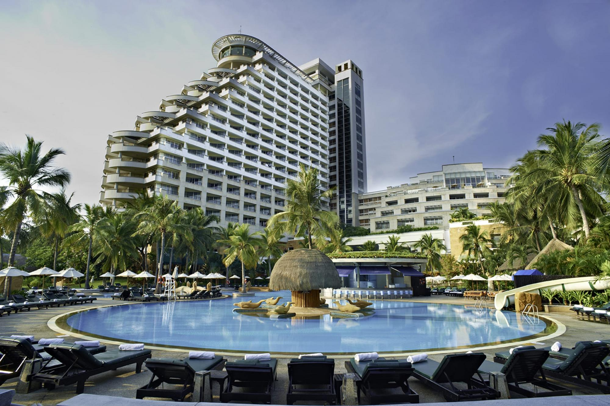 The Hilton Hua Hin Resort and Spa's picturesque hotel situated in stunning Hua Hin.
