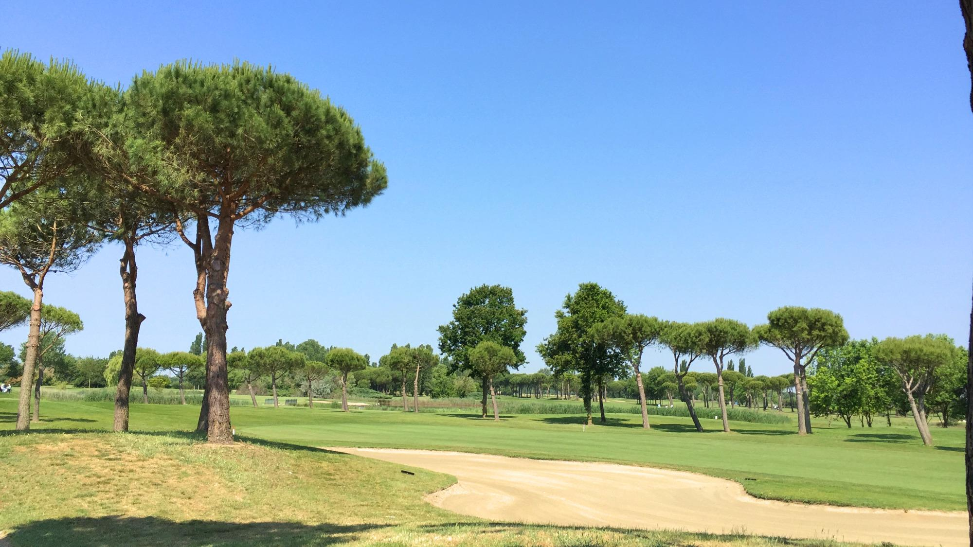 The Adriatic Golf Club Cervia's picturesque golf course situated in impressive Northern Italy.