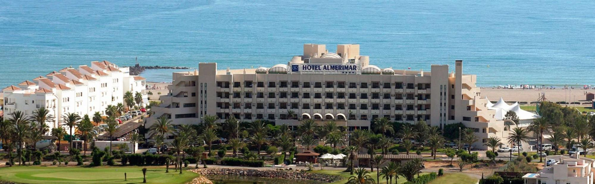 The Hotel Golf Almerimar's picturesque hotel in stunning Costa Almeria.