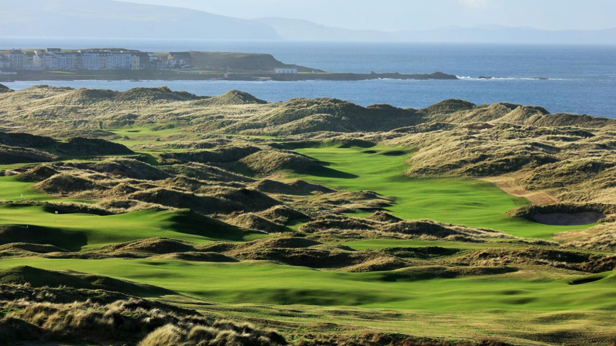 The Royal Portrush Golf Club home of the 148th Open Championship sucess of Shane Lowry