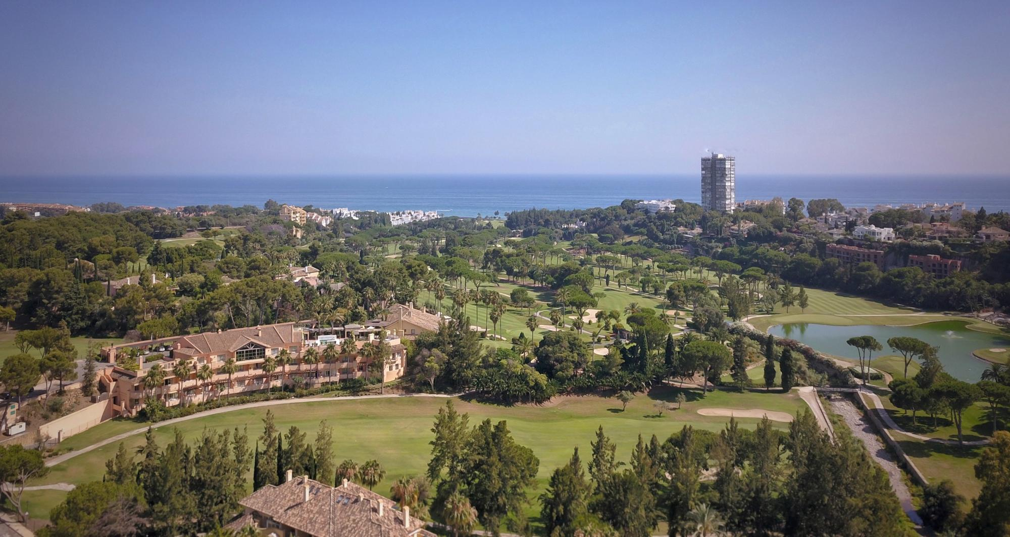 The Rio Real Golf Hotels lovely hotel in dramatic Costa Del Sol.