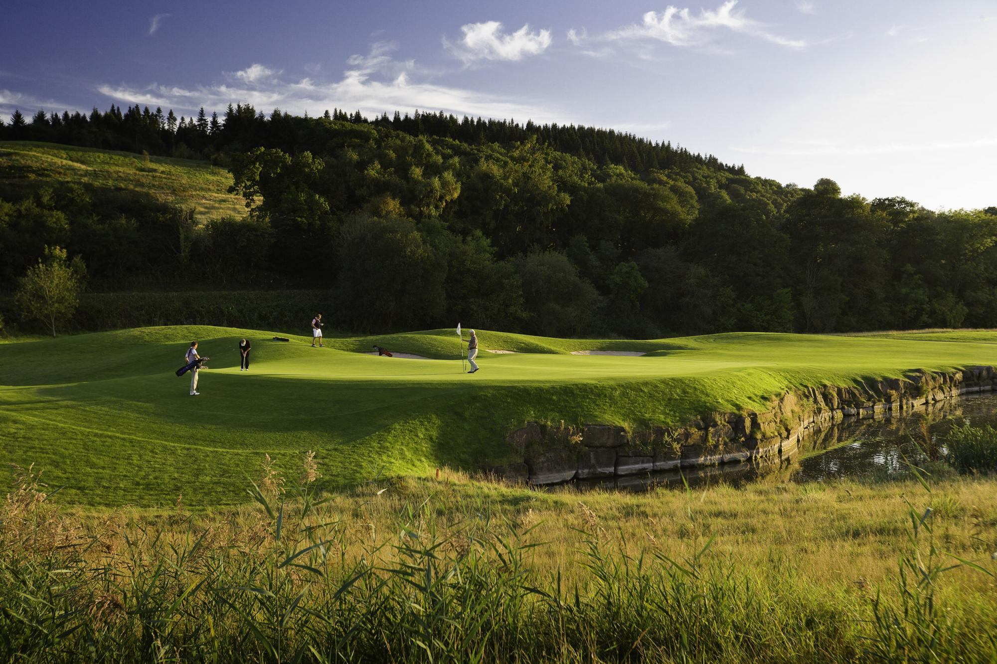 View Celtic Manor Resort Golf's lovely golf course situated in brilliant Wales.