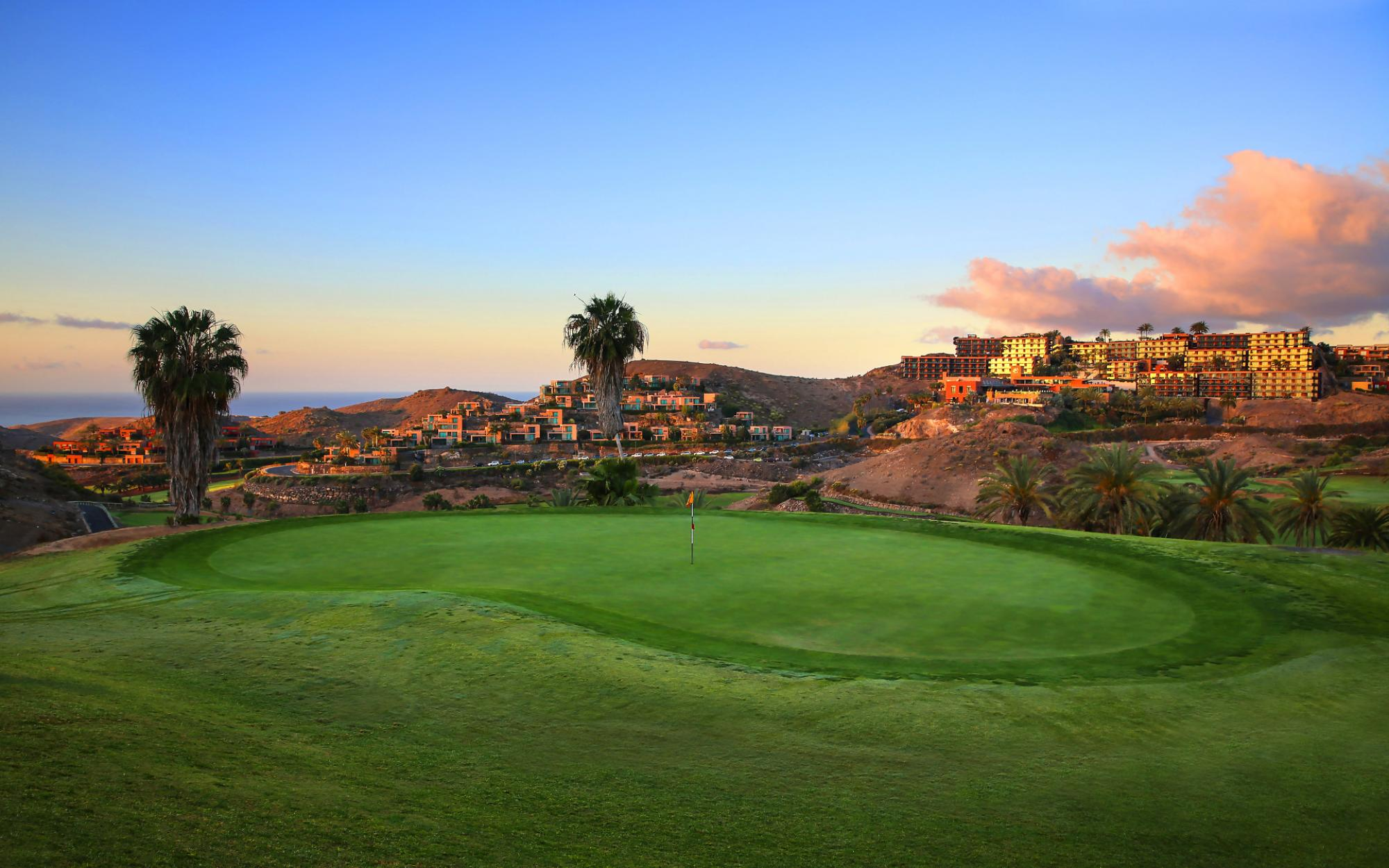 The Salobre Golf Course Old's beautiful golf course within marvelous Gran Canaria.