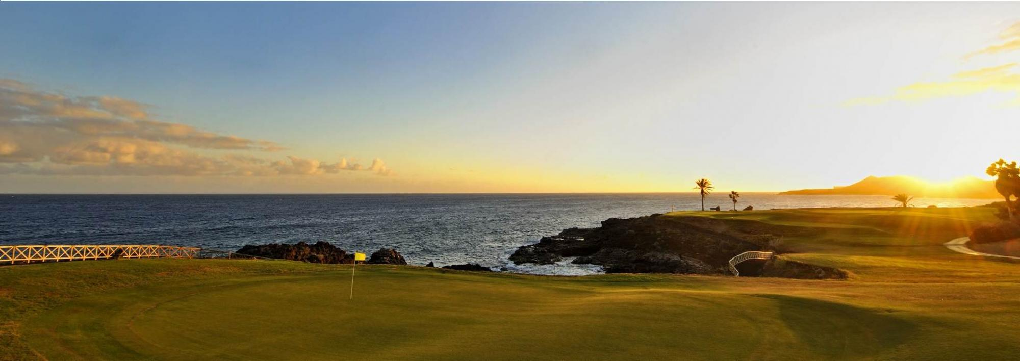 The Amarilla Golf and Country Club's lovely golf course within magnificent Tenerife.