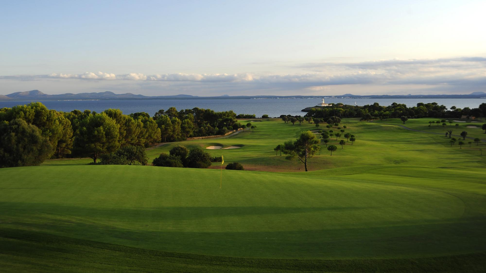 The Andratx Golf Course - Camp de Mar's beautiful golf course situated in spectacular Mallorca.