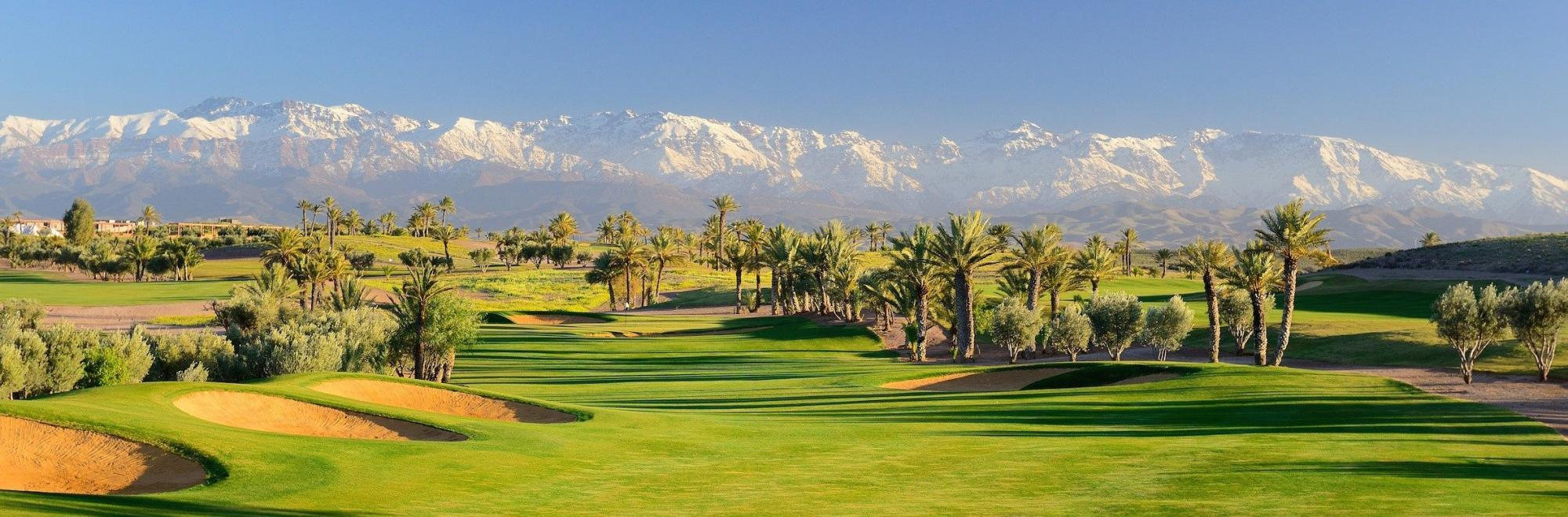 View Assoufid Golf Club's impressive golf course situated in incredible Morocco.