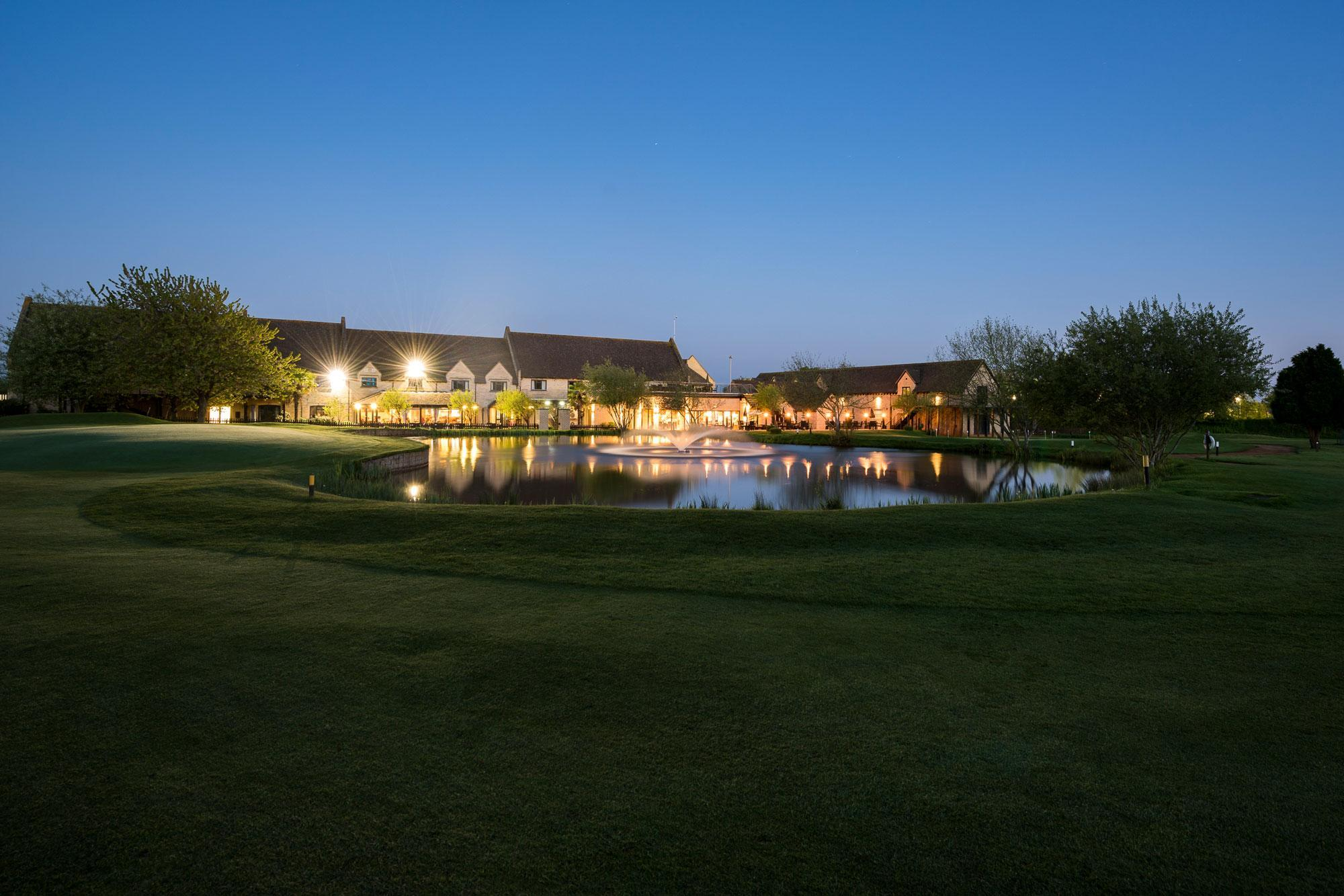 The Bicester Golf Club's beautiful golf course within amazing Oxfordshire.