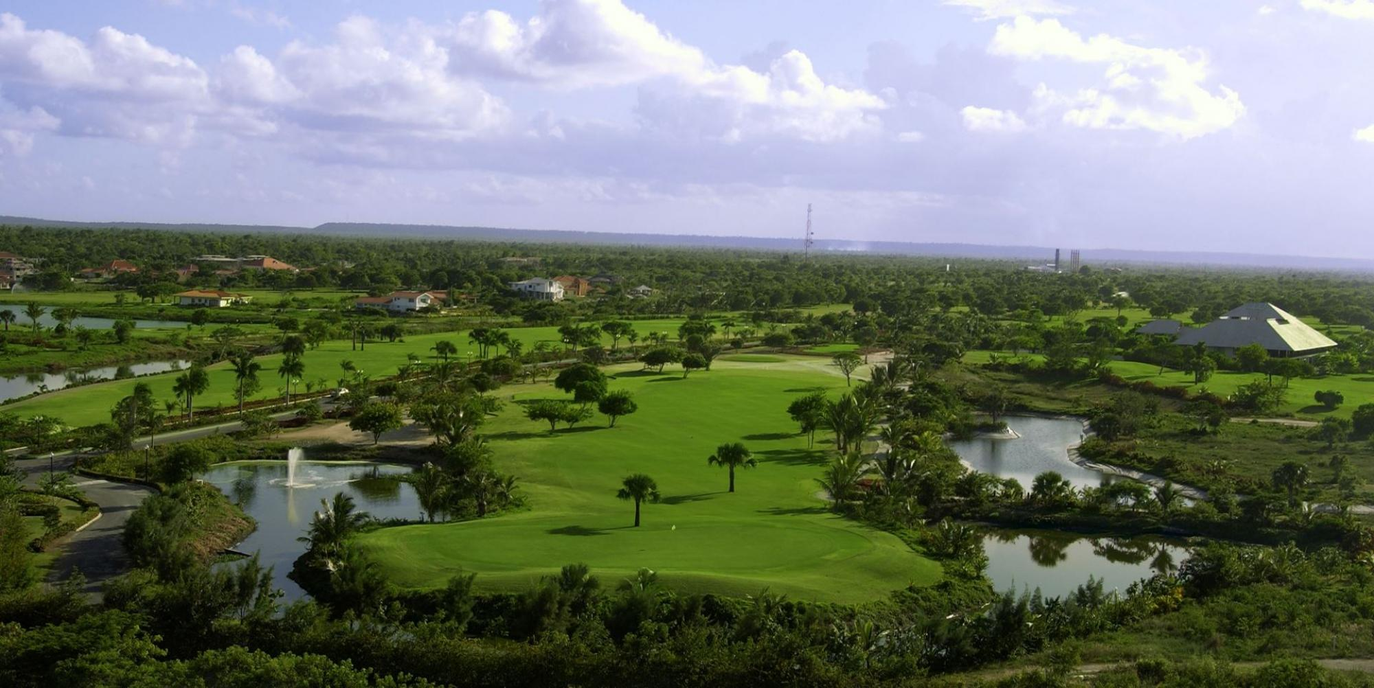 View Cocotal Golf and Country Club's lovely golf course in magnificent Dominican Republic.