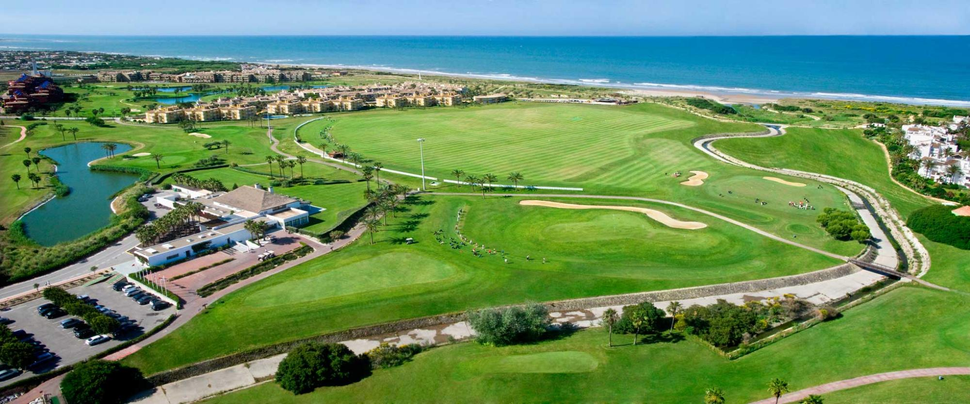 The Costa Ballena Ocean Golf Club's scenic golf course within magnificent Costa de la Luz.