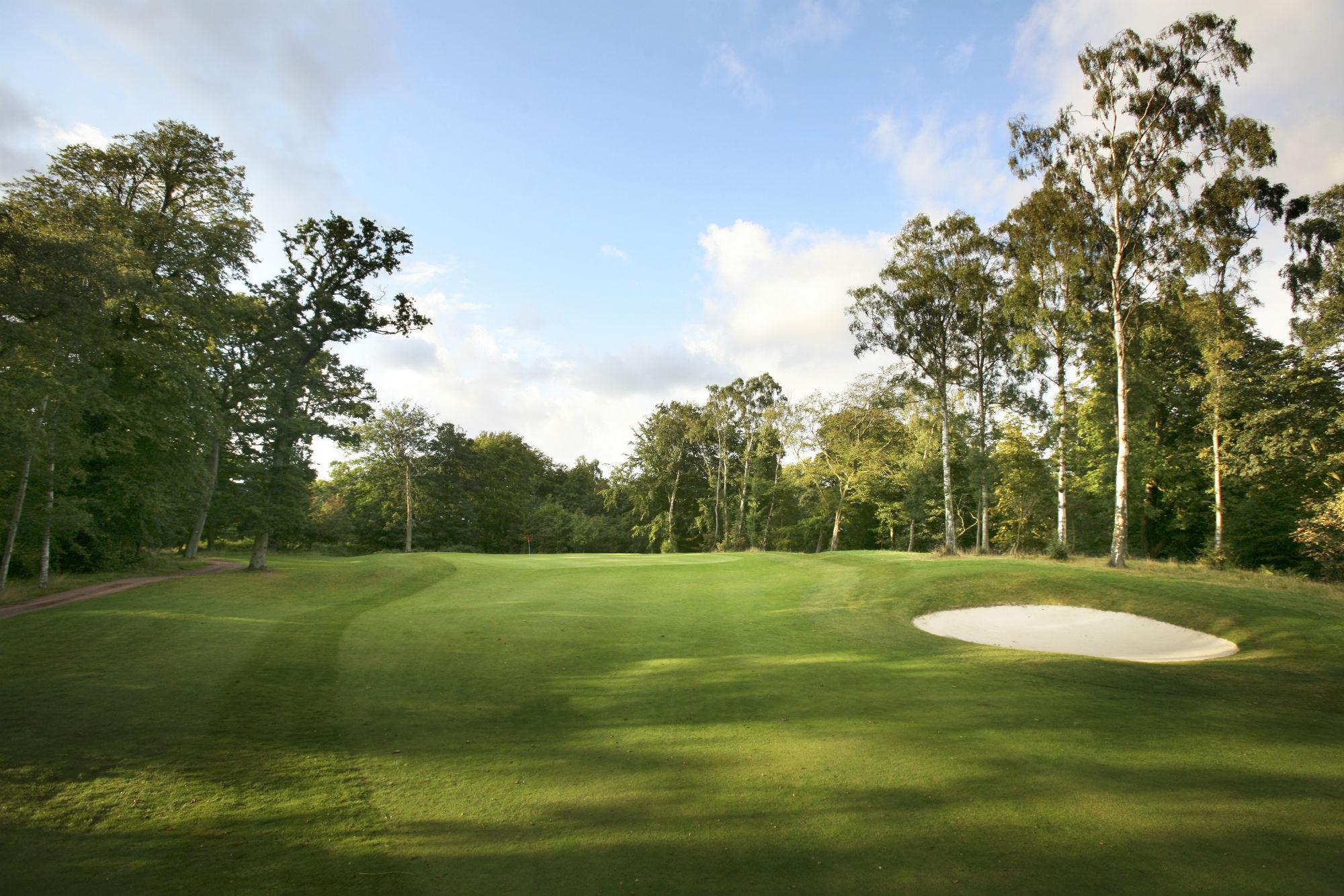 The Dalmahoy Golf Course's lovely golf course situated in dazzling Scotland.