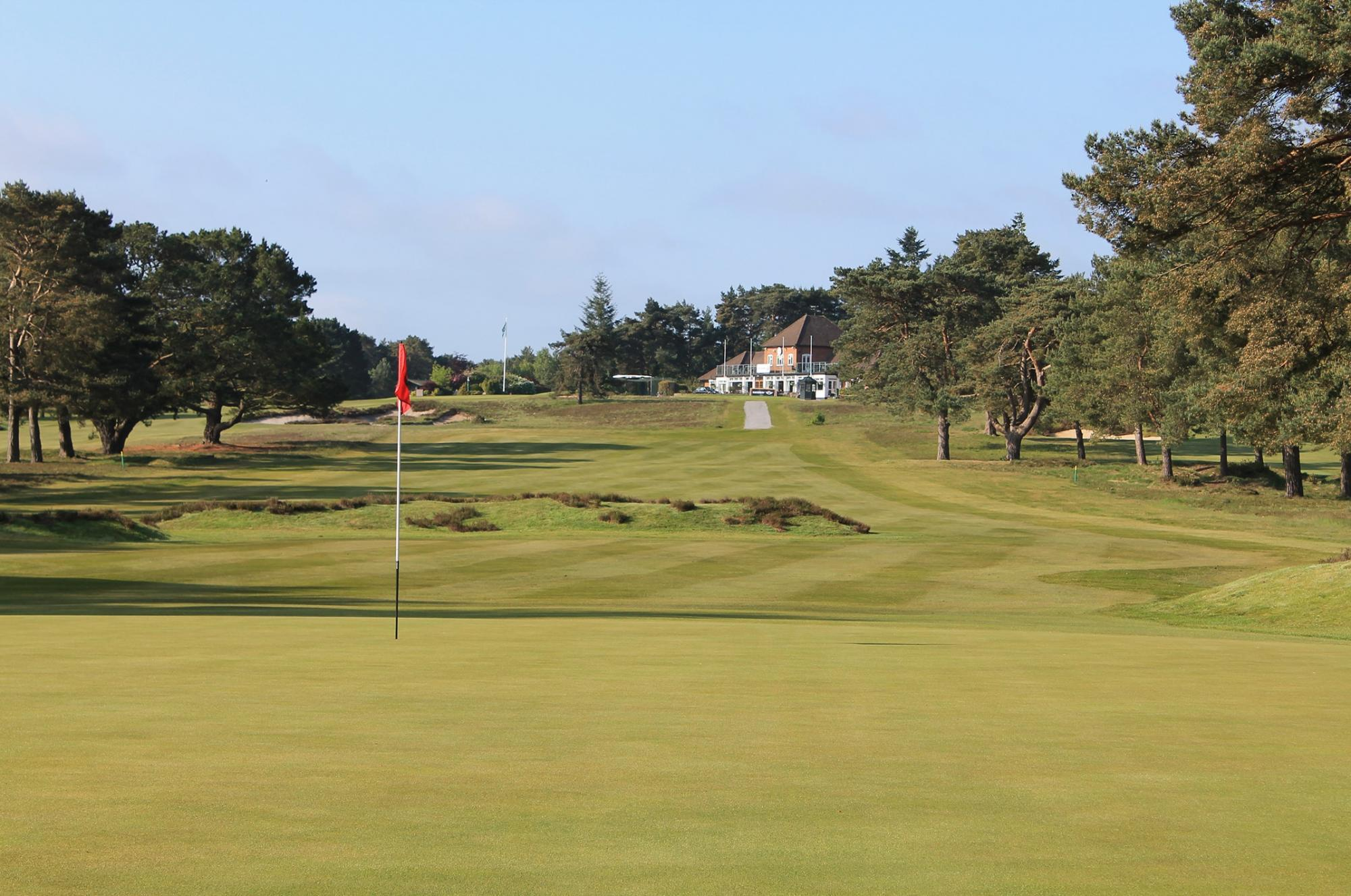 The Ferndown Golf Club's scenic golf course in sensational Devon.