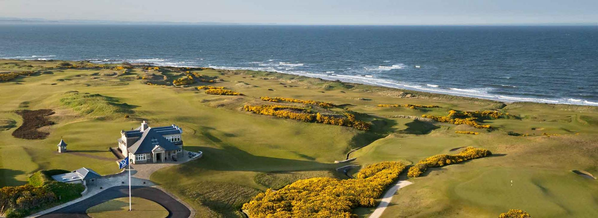 View Kingsbarns Golf Links's picturesque golf course within striking Scotland.