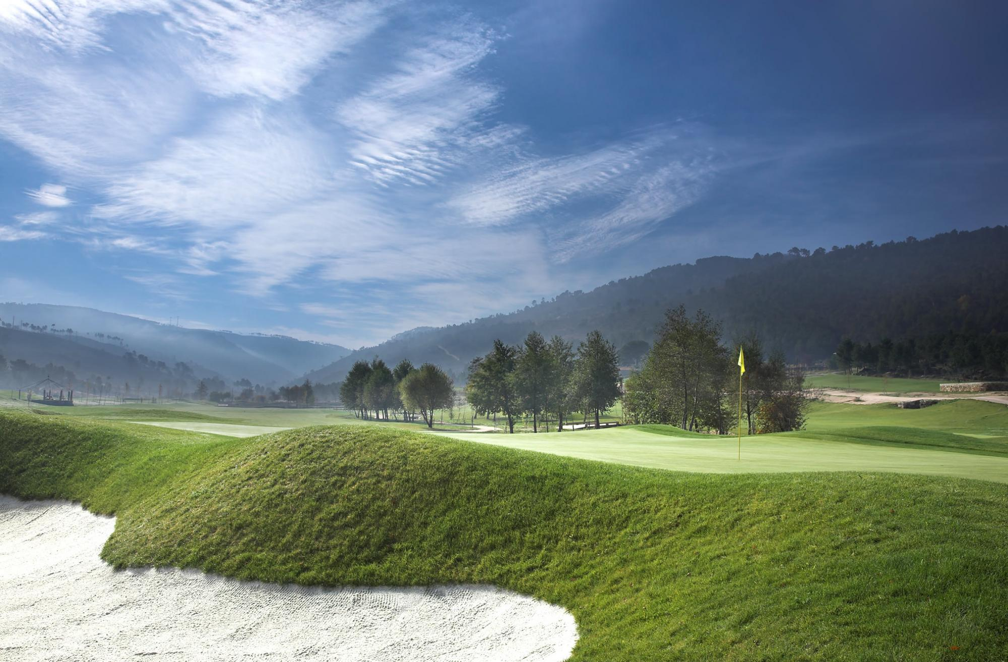 The outstanding Vidago Palace Golf Course located in Porto
