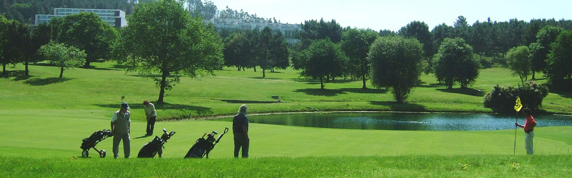 The Ponte de Lima Golf Course's picturesque golf course in stunning Porto.