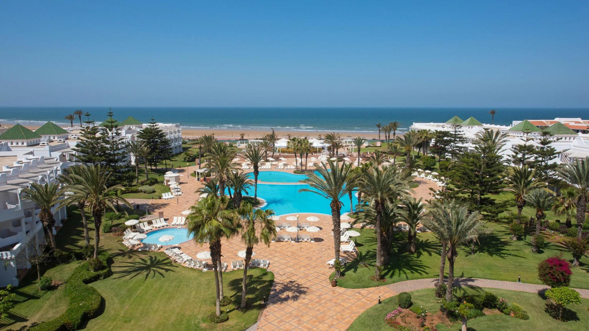 All The Iberostar Founty Beach hotel's picturesque hotel in stunning Morocco.