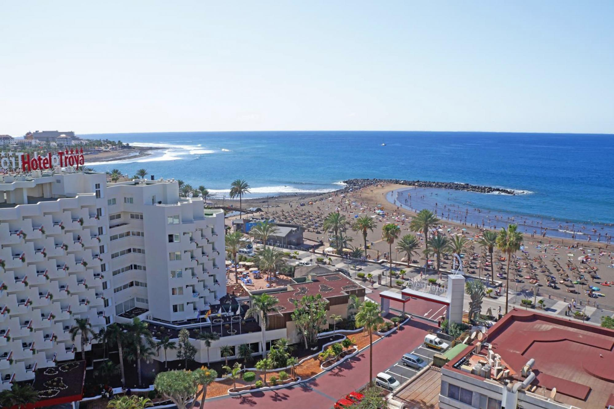View Hotel Troya's picturesque sea view within magnificent Tenerife.