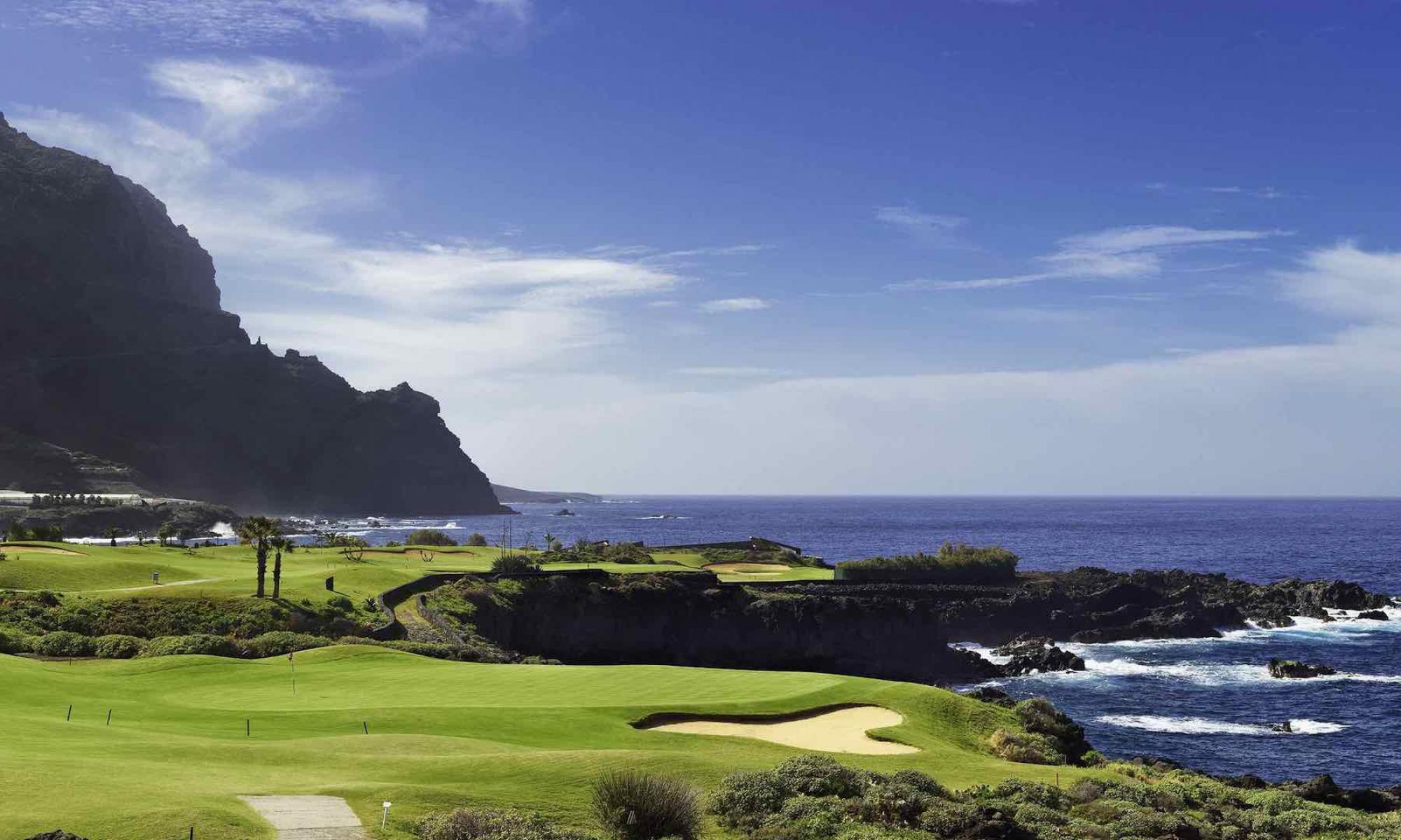 The Buenavista Golf Course's impressive golf course within brilliant Tenerife.