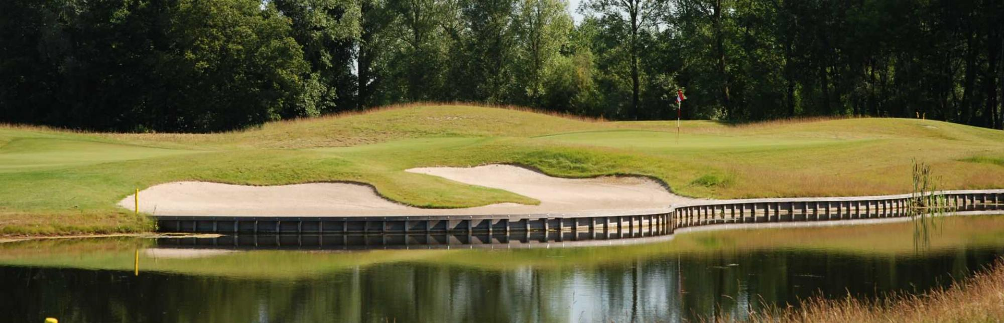 The Damme Golf  Country Club's beautiful golf course in magnificent Bruges  Ypres.