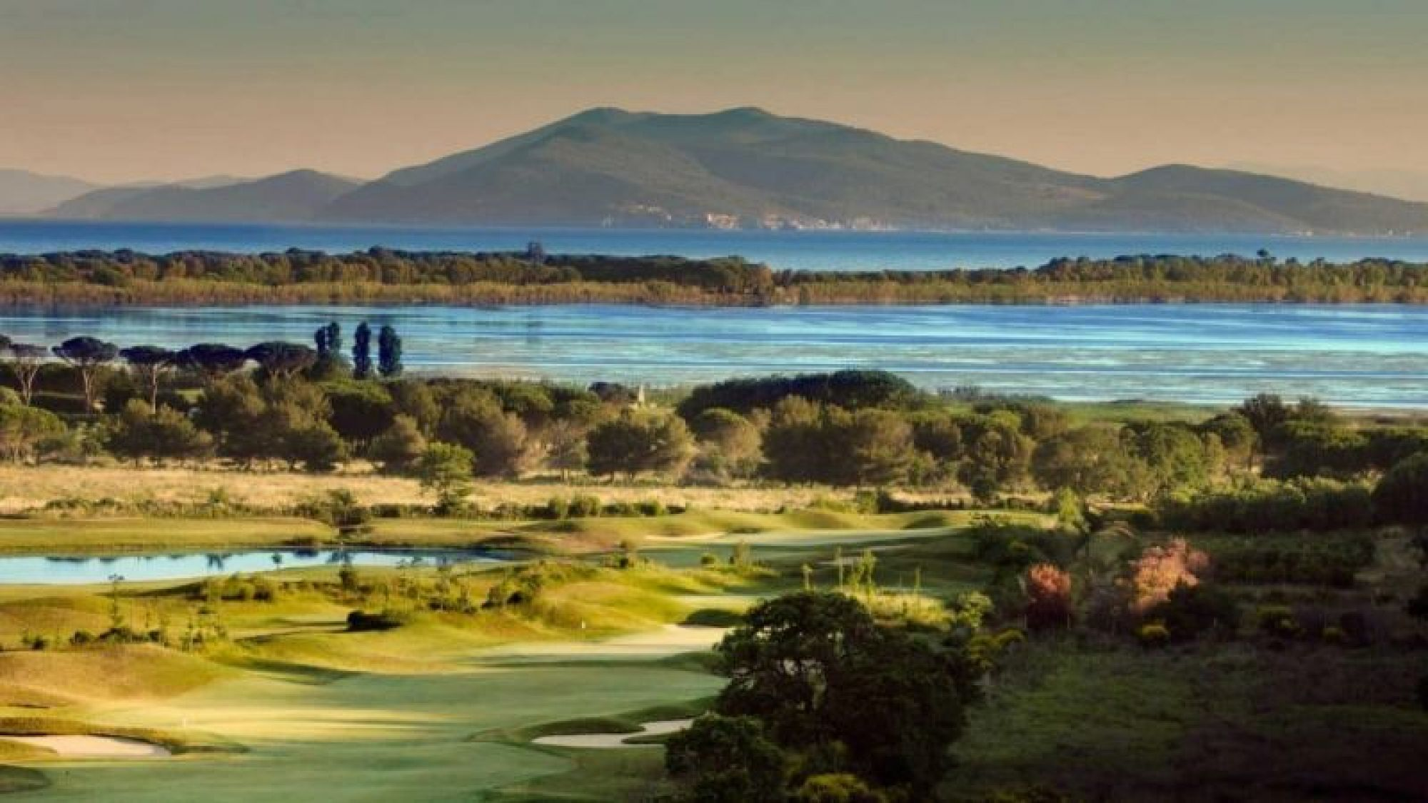 Argentario Golf Club has lots of the most desirable golf course in Tuscany