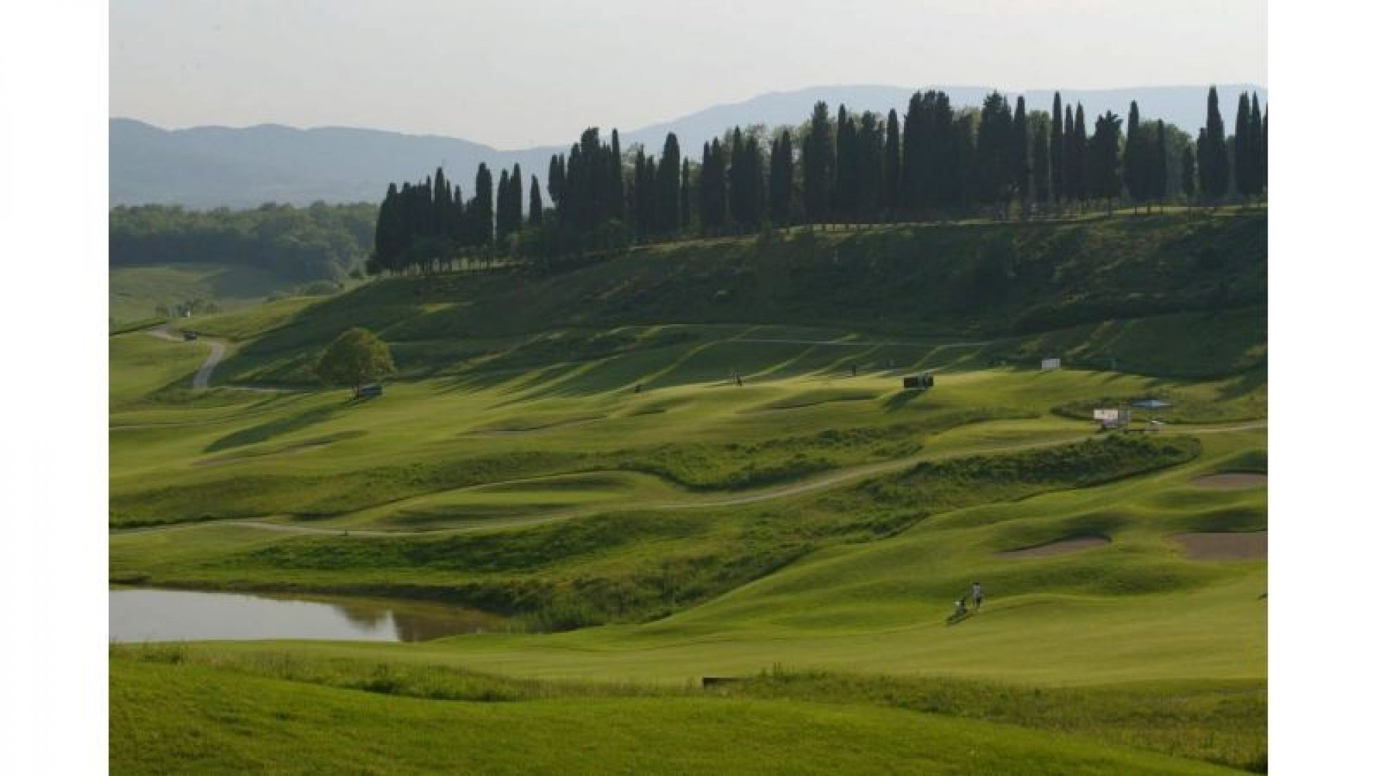View Poggio dei Medici Golf Club's lovely golf course in astounding Tuscany.