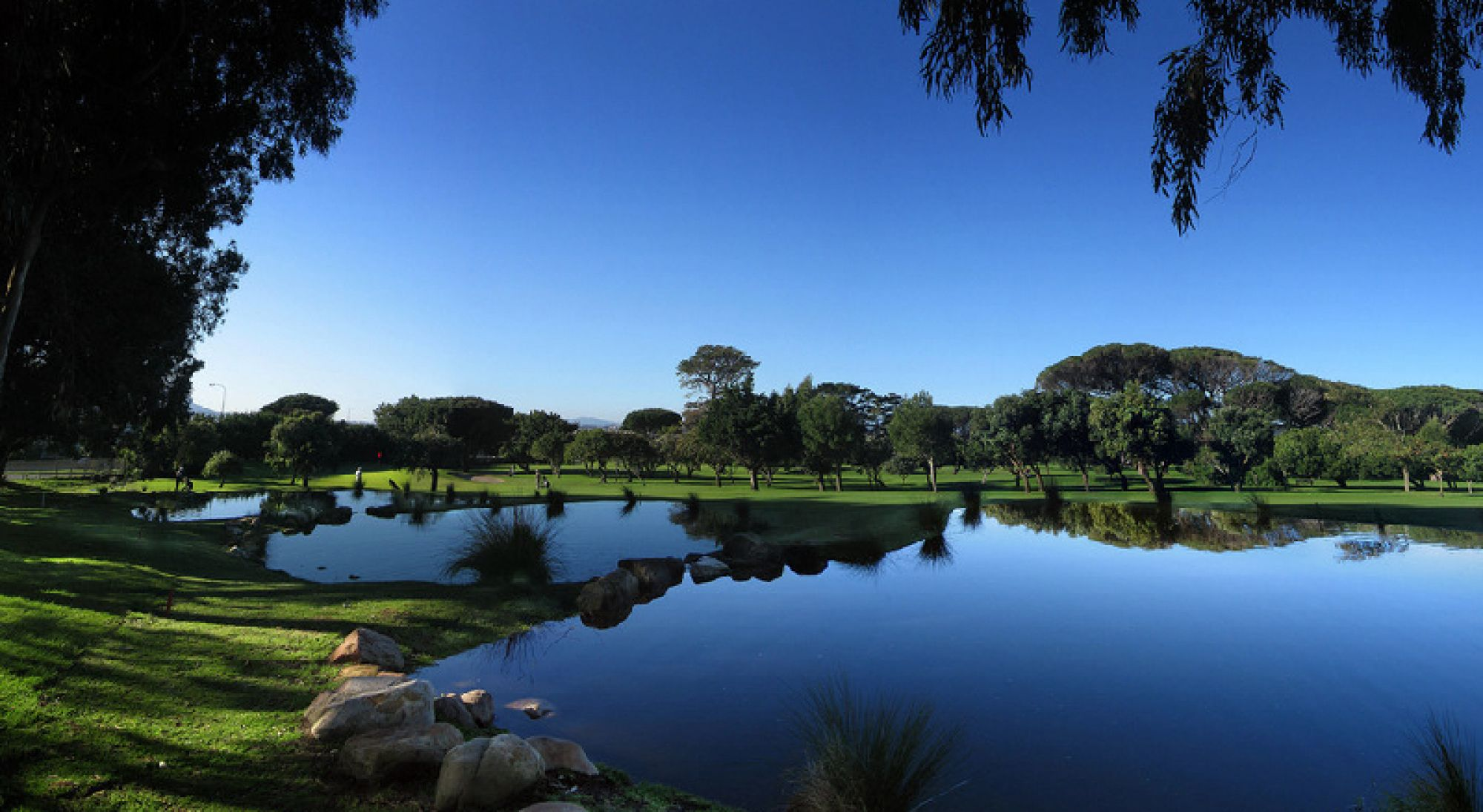 View Westlake Golf Club's lovely golf course situated in pleasing South Africa.