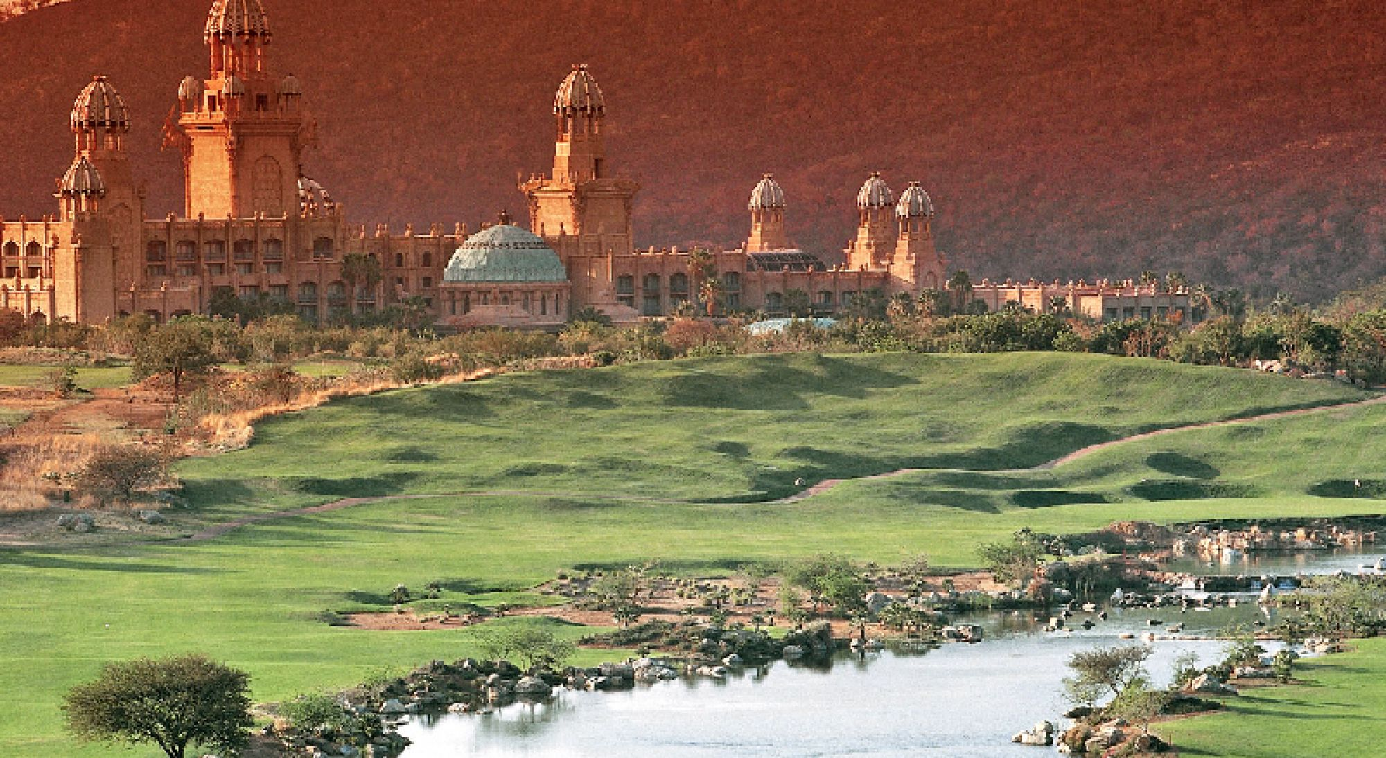 Lost City Golf Course has got lots of the best golf course within South Africa