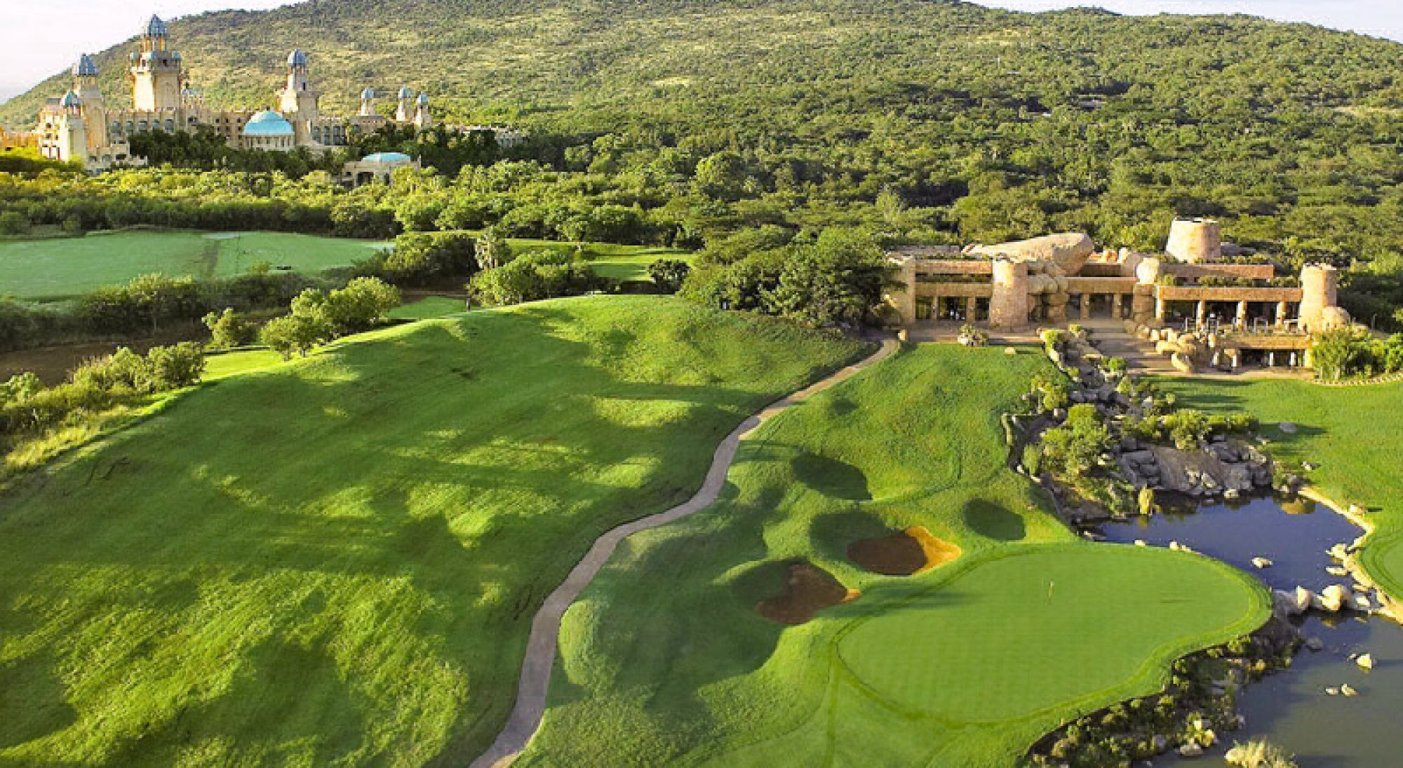 All The Gary Player Country Club's lovely golf course within staggering South Africa.