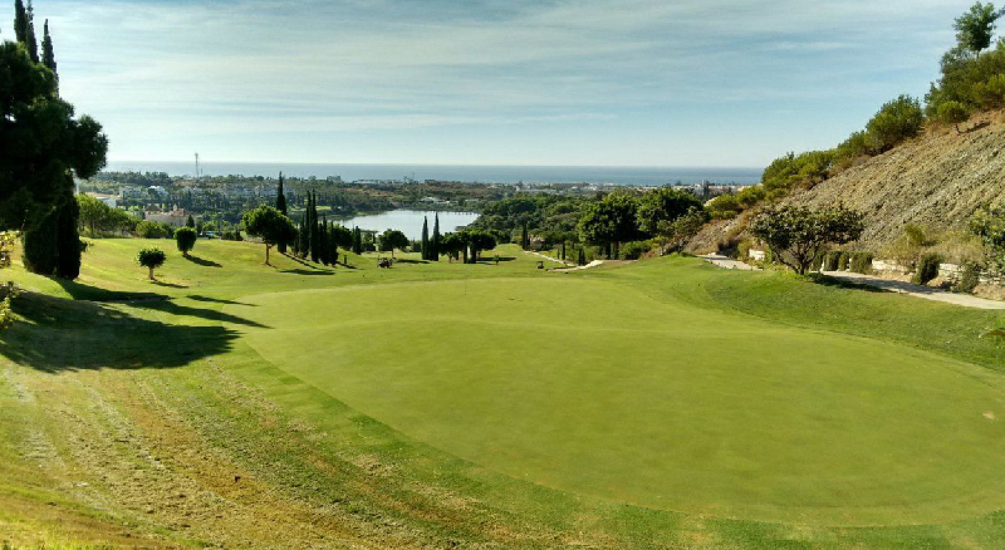 All The Flamingos Course - Villa Padierna's lovely golf course within striking Costa Del Sol.