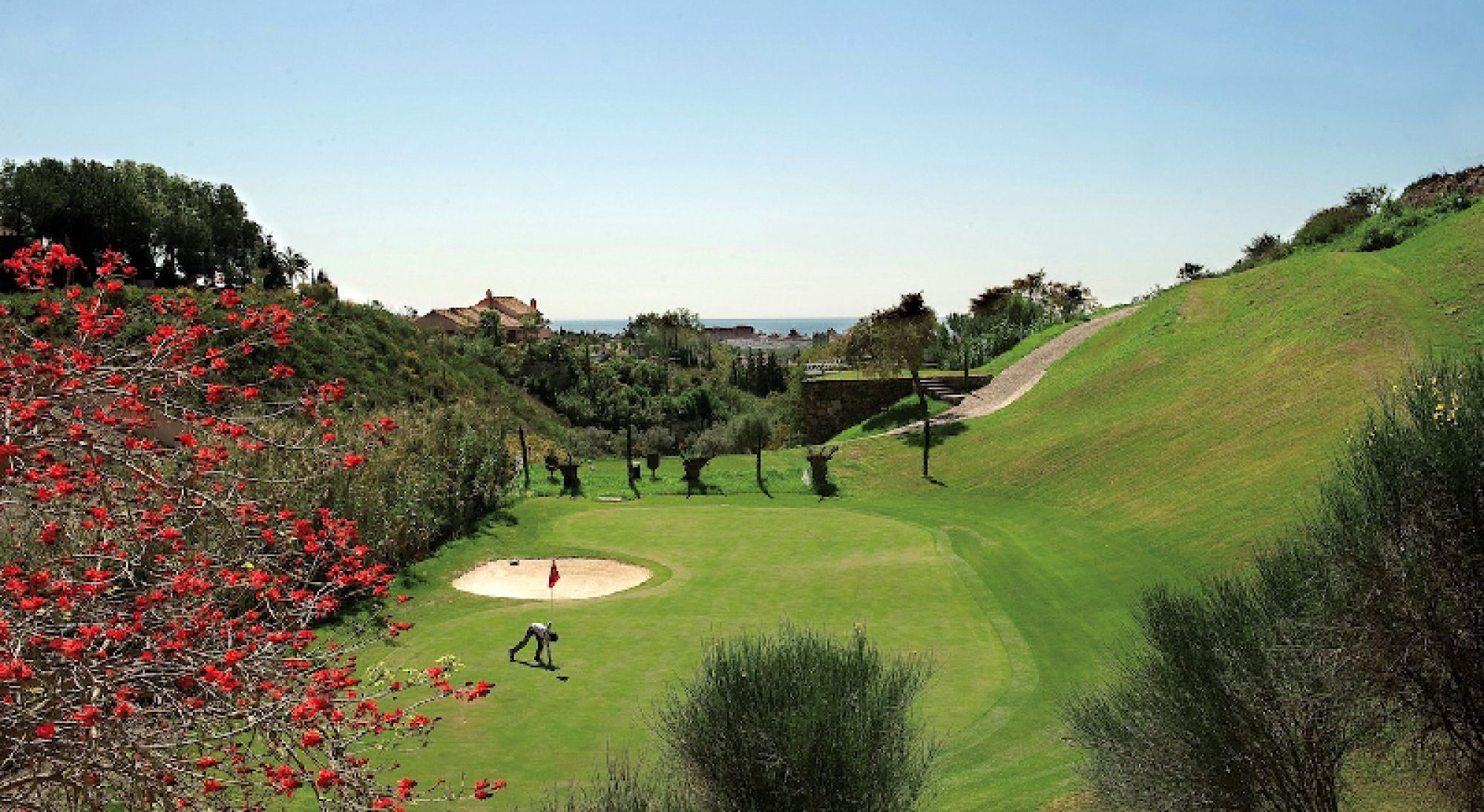View Tramores Course - Villa Padierna's lovely golf course within dramatic Costa Del Sol.