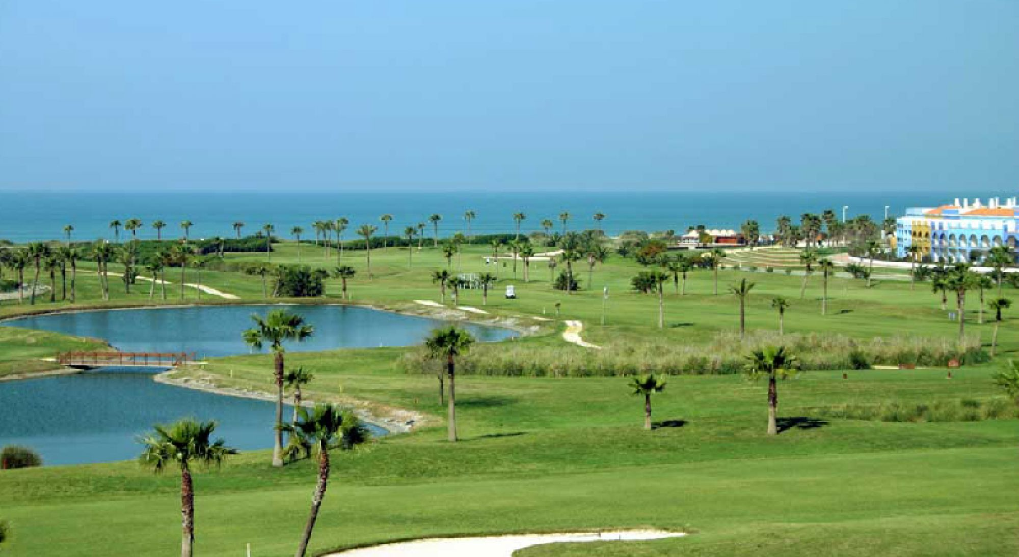 Costa Ballena Ocean Golf Club features some of the finest golf course in Costa de la Luz