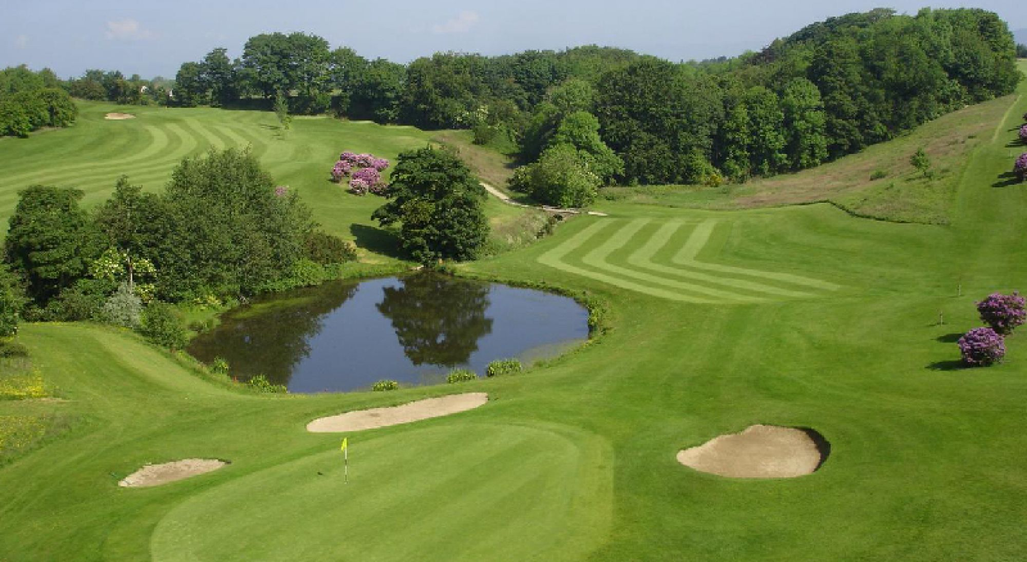 All The Roe Park Resort Golf 's beautiful golf course situated in spectacular Northern Ireland.